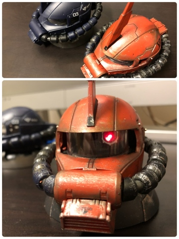 EXCEED MODEL ZAKU HEAD