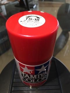 タミヤカラーメタリックレッドTS-18
